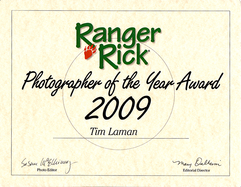 To see the anouncement made in Ranger Rick Magazine visit our blog.