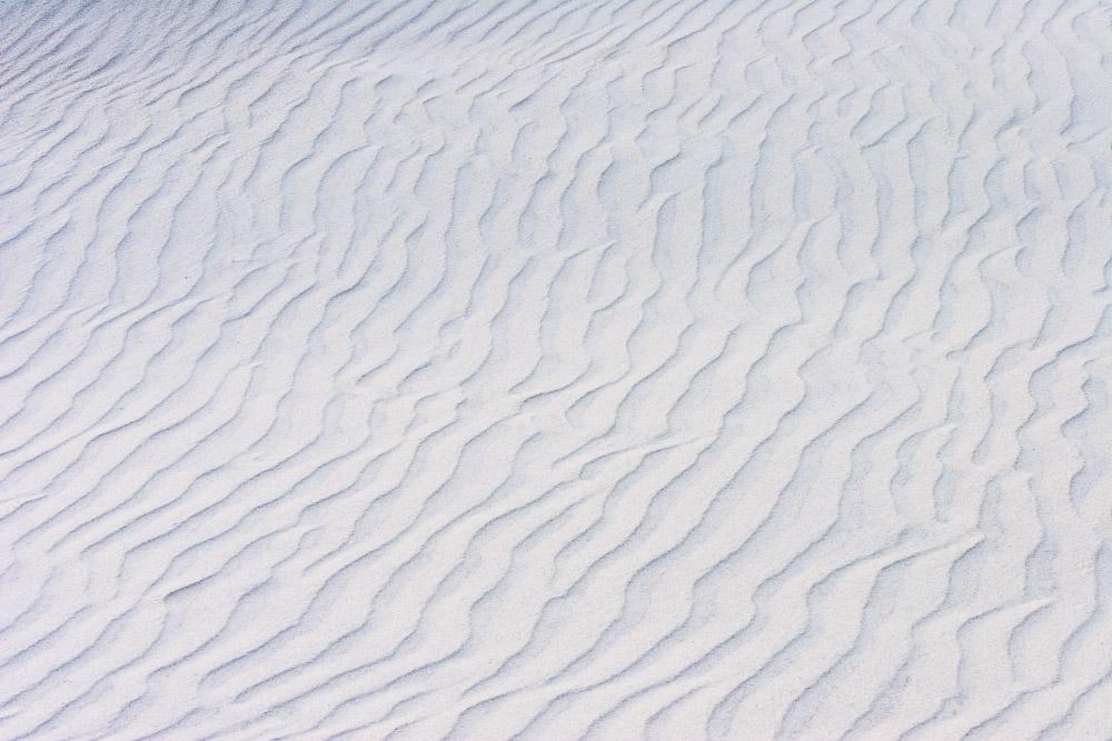 Sand Ripples near the Former Coast Guard station, now abandoned, Pea Island near Oregon Inlet, North Carolina
