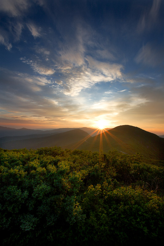 Sunrise, Craggy Gardens, Blue Ridge Parkway, NC