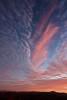 Sunrise from Rhodes Big View along US 64. View near Highlands, North Carolina