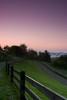 Sunrise at Cone Manor, Julian Price Memorial Park, Blue Ridge Parkway, North Carolina