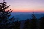 Sunset from Waterrock Knob, Blue Ridge Parkway, NC