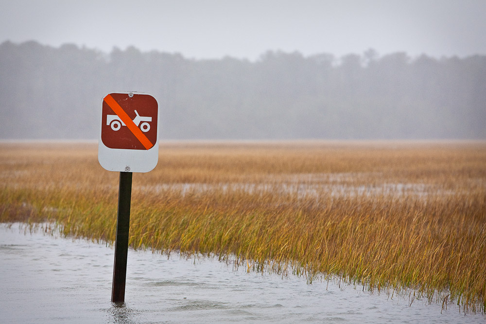 Rainy season in Chincoteague, VA