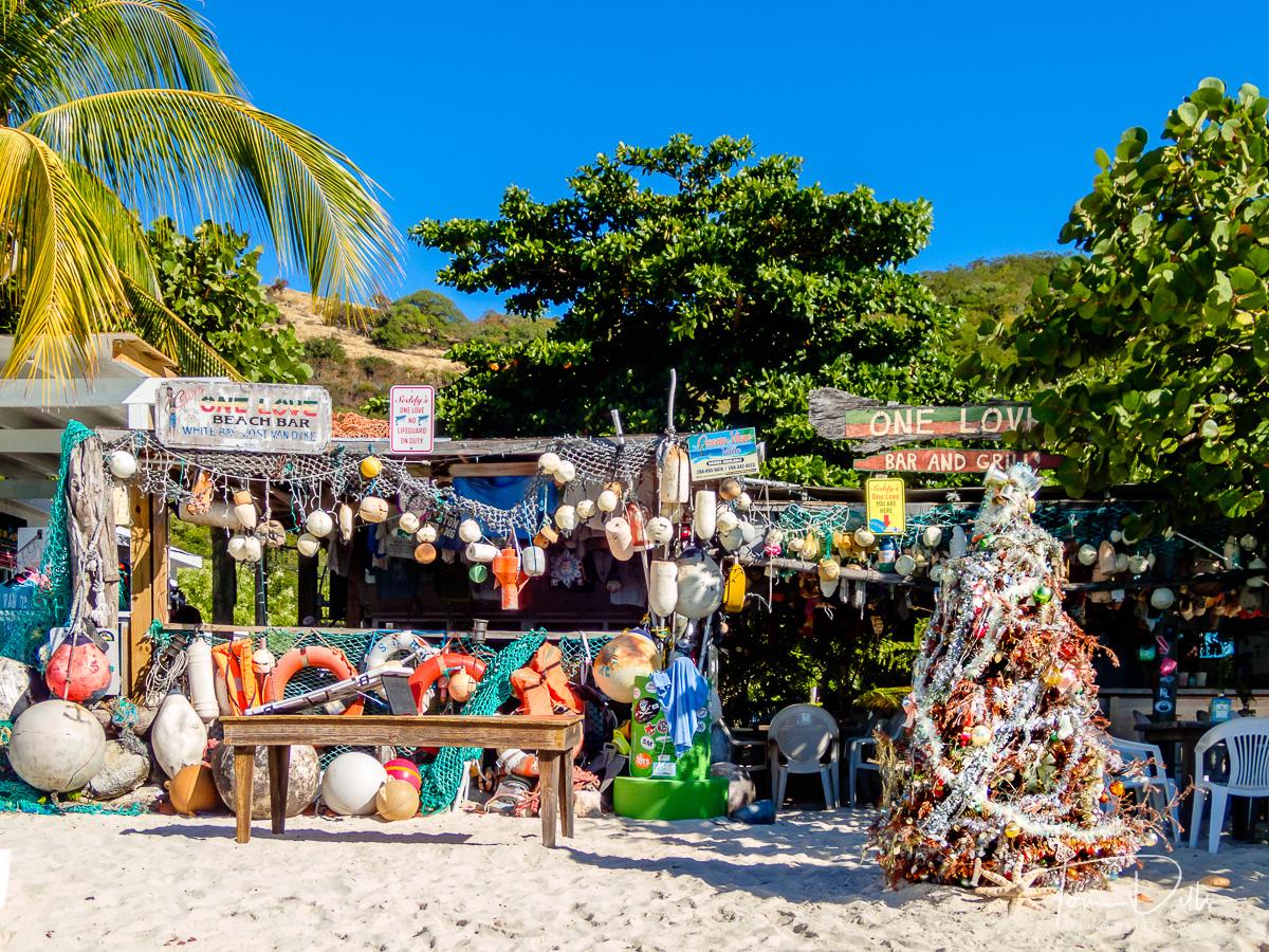 One Love Beach Bar at White Bay, Jost Van Dyke, British Virgin Islands