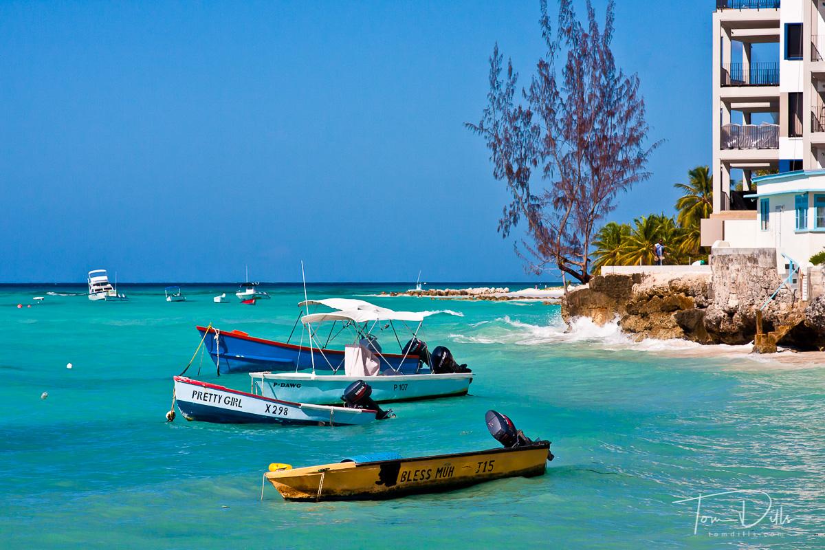 St. Lawrence Gap waterfront in Bridgetown Barbados