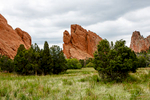 Garden of the Gods near Colorado Springs, Colorado