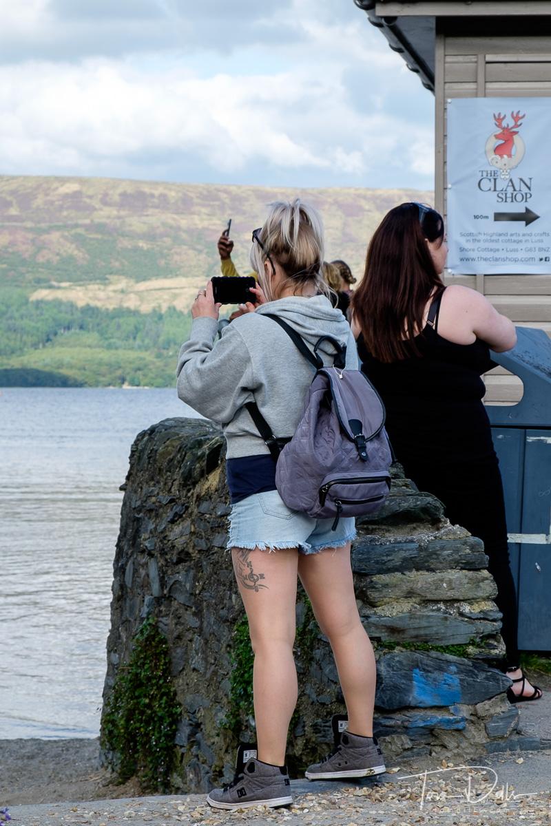Loch Lomond at the Village of Luss, Scotland