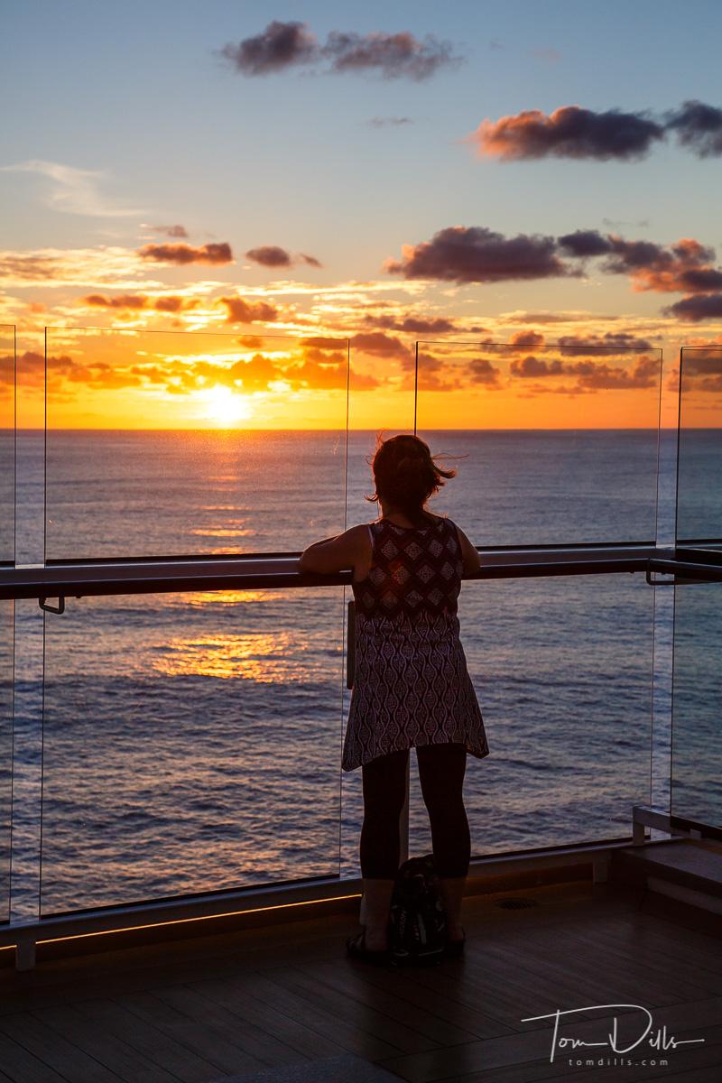 Aboard Celebrity Silhouette