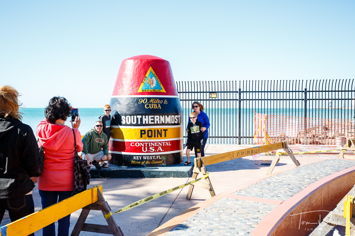 The Southernmost Point, Key West Florida