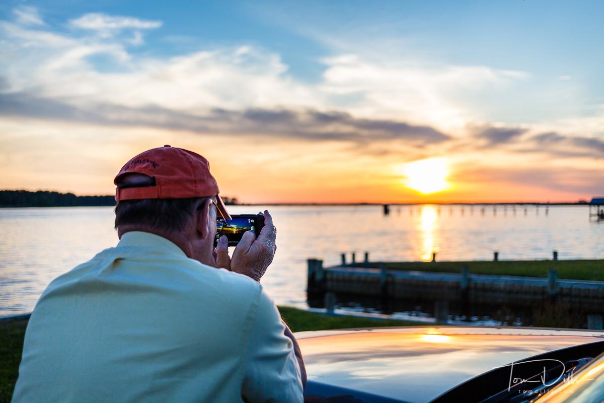 Sunset in Belhaven, North Carolina