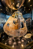 Apollo 16 command module on display at the Davidson Center for Space Exploration at the US Space & Rocket Center in Huntsville, Alabama at the US Space & Rocket Center in Huntsville, Alabama