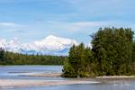 Mount McKinley-Alaska Railroad from Anchorage to Denali National Park, Alaska