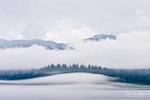 Fog Rising from the Bay, Glacier Bay National Park and Preserve, Alaska