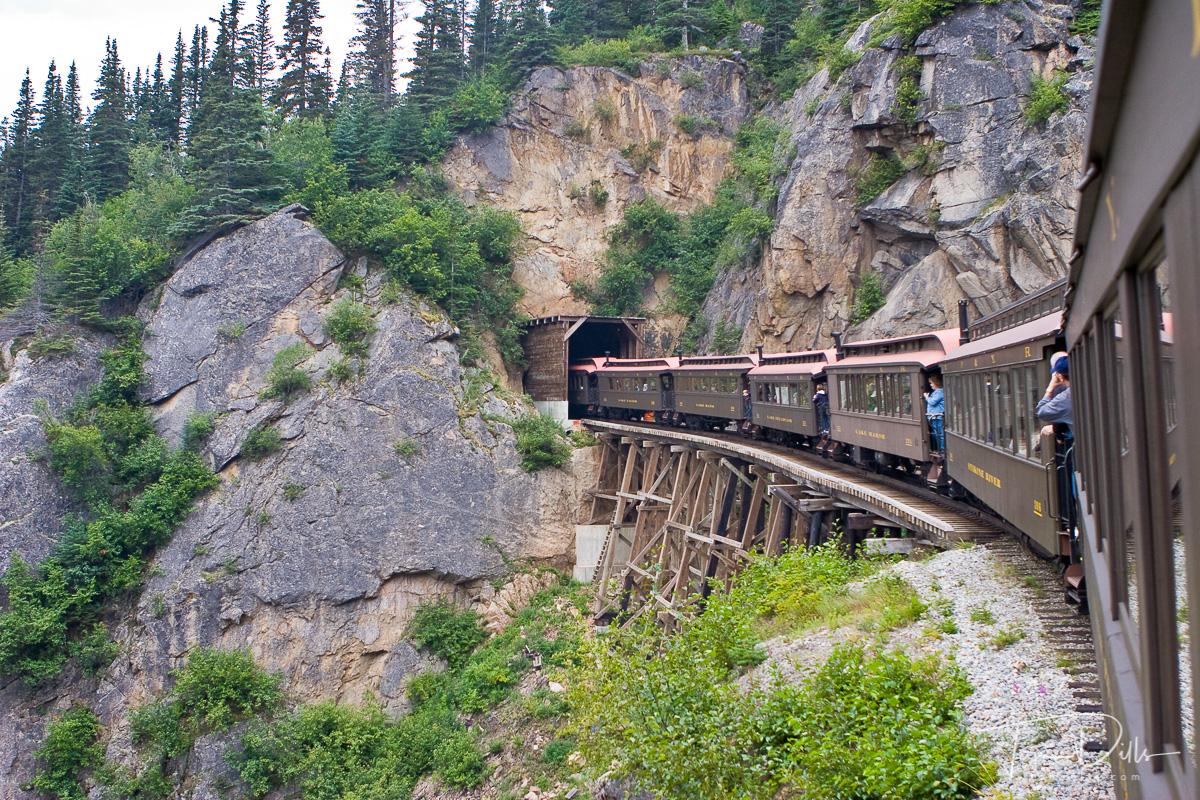 White Pass & Yukon Scenic Railway, Skagway, Alaska