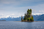 New Eddystone Rock on our cruise to Misty Fjords National Monument aboard the St. Nona