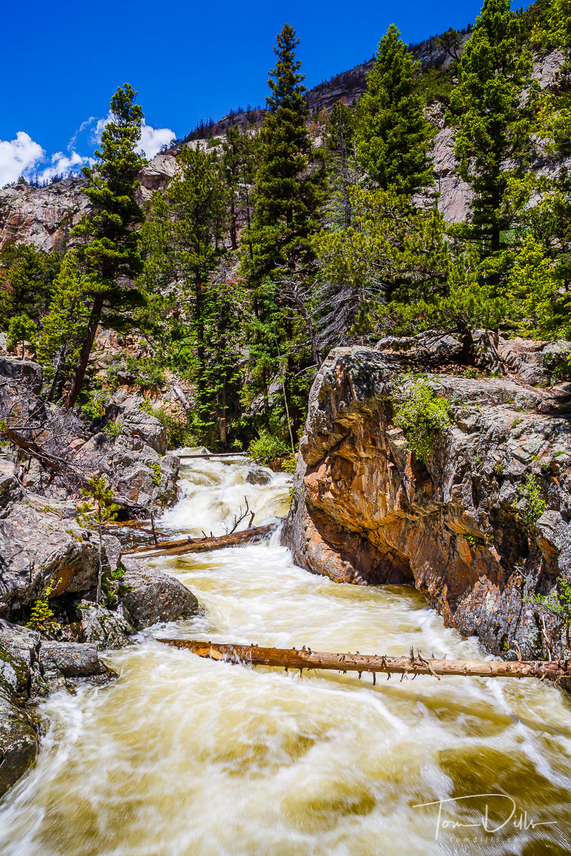 Trail to The Pool, Rocky Mountains National Park