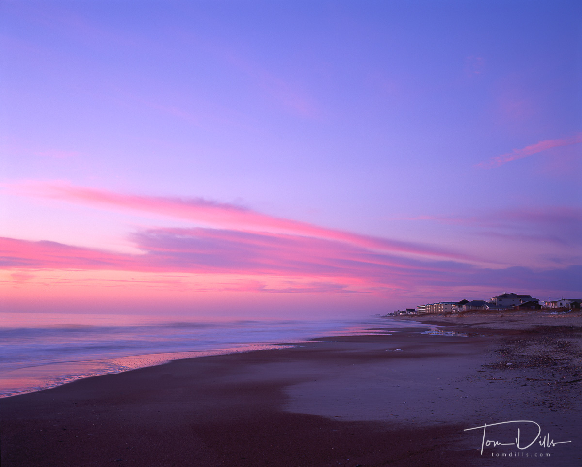 Sunrise at the beach, Fernandina Beach, Amelia Island, FL