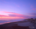 Sunrise at the beach, Fernandina Beach, Amelia Island, FL