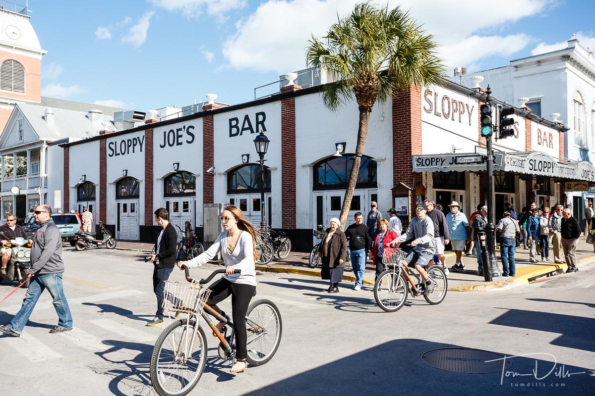 Sloppy Joe's Bar in Key West, Florida
