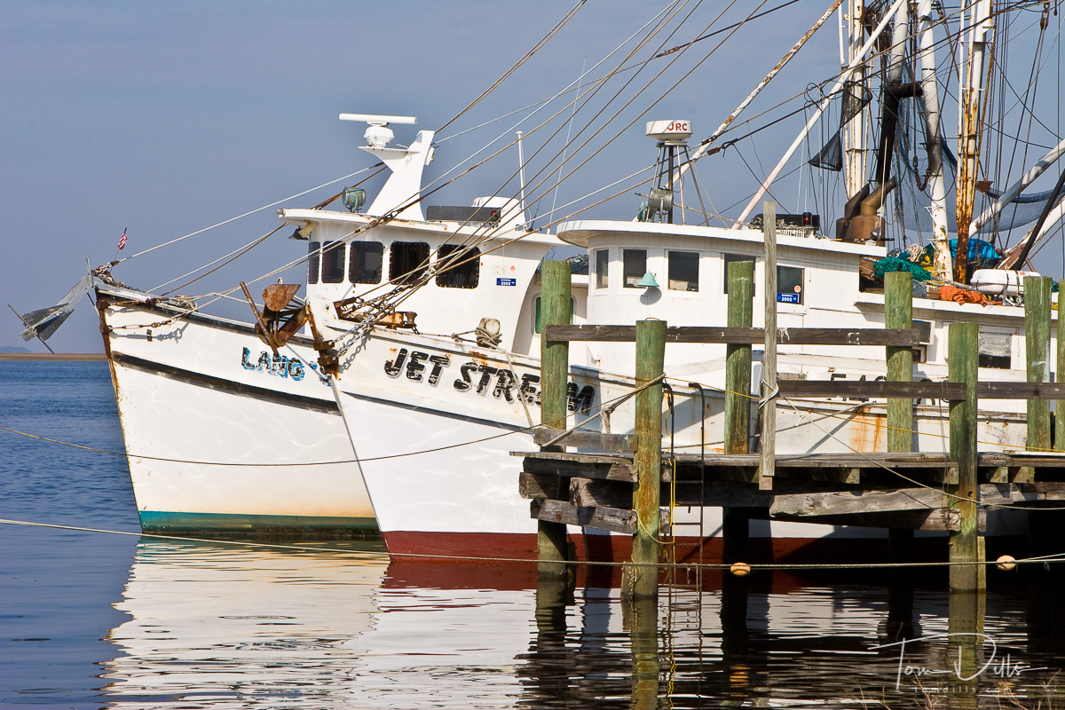 Fishing Boats at Old Dock, Fernandina Beach, Amelia Island, FL