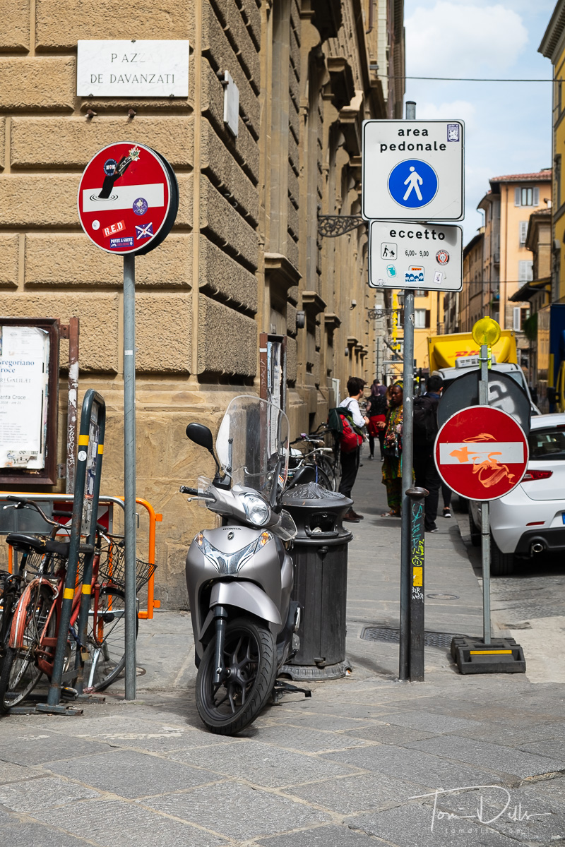 Guided walking tour of Florence, Italy