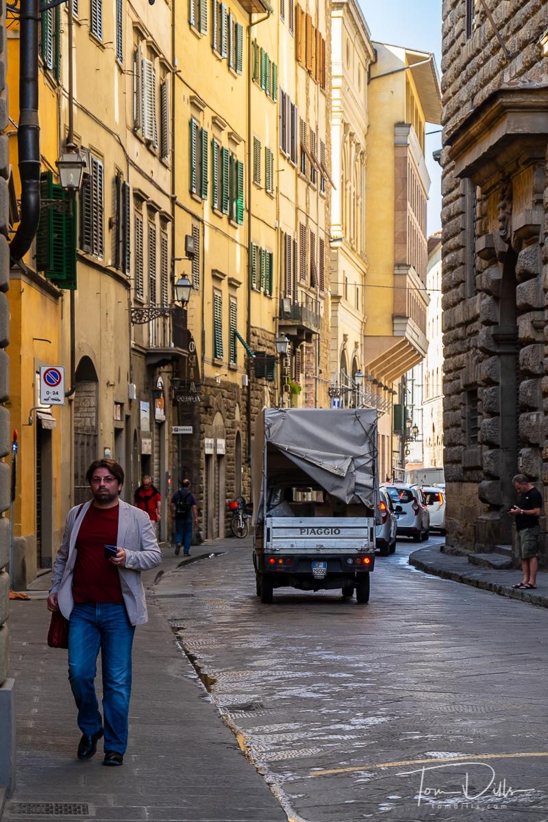 Walking around Florence Italy