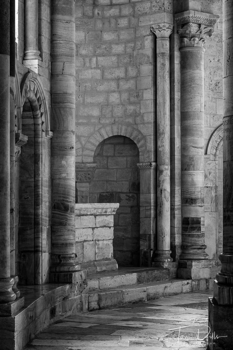 Abbey of Sant'Antimo (Abbazia di Sant'Antimo) near Montalcino, Italy