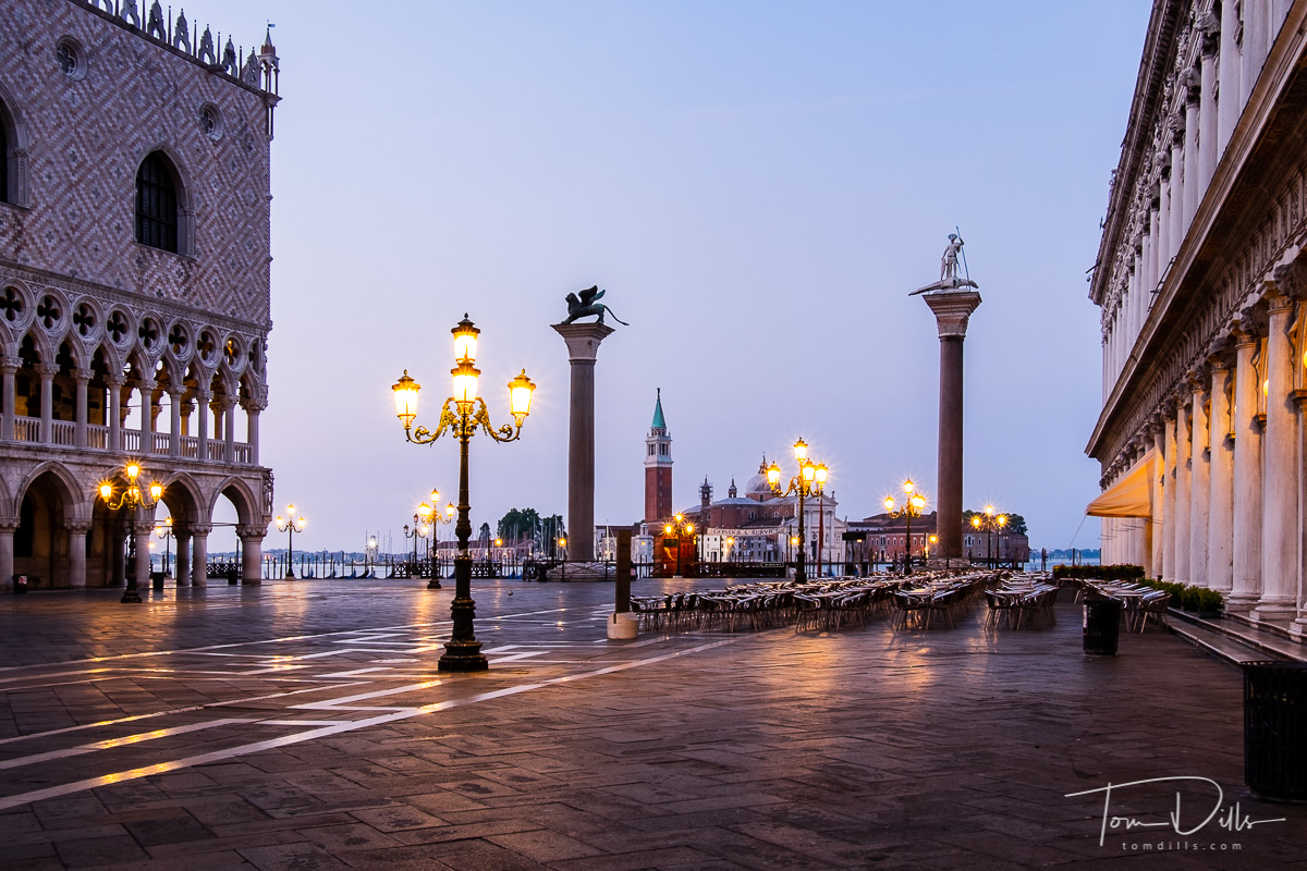 St Mark's Square in Venice, Italy