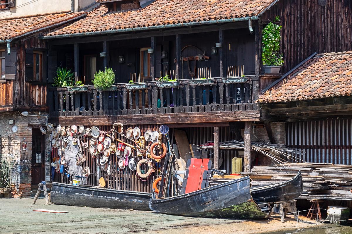 Squero di San Trovaso, boat builders in Venice, Italy