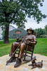 Booker Noe Statue, Jim Beam Distillery, Clermont, KY