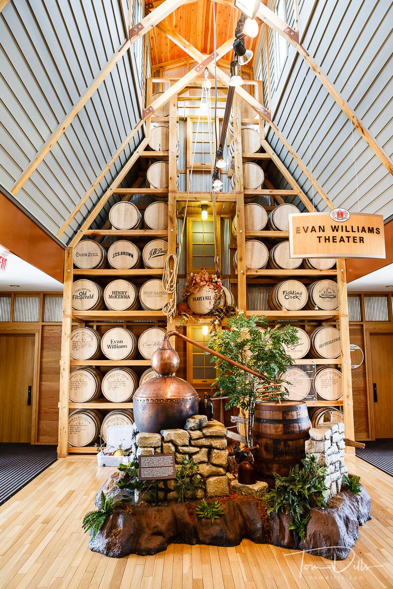 Bourbon Heritage Center, Heaven Hill Distillery, Bardstown, KY