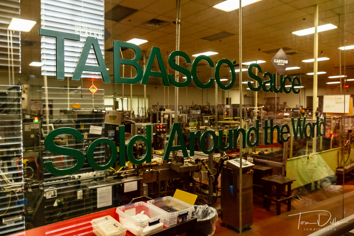 Tabasco Factory Tour in Avery Island, Louisiana