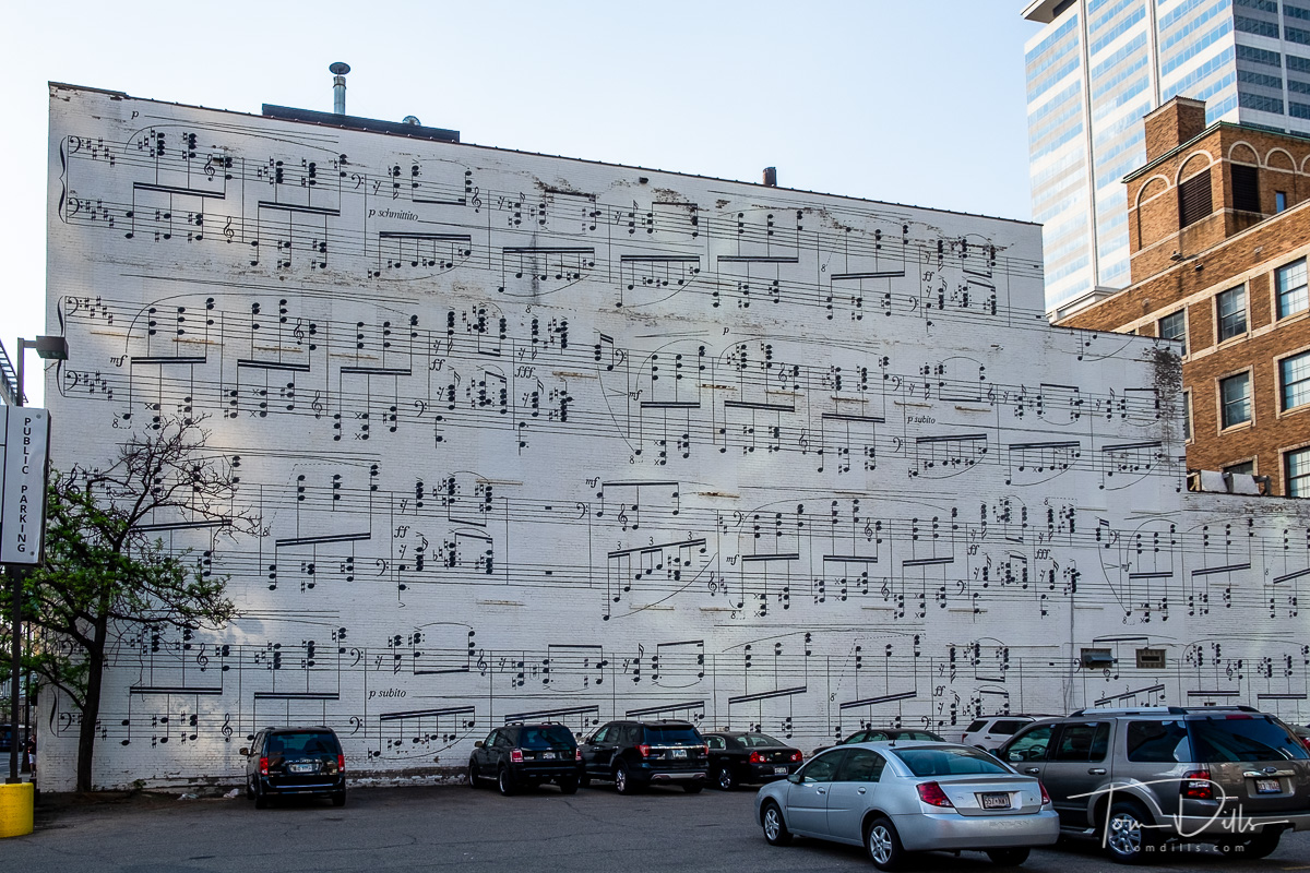 Music Wall in downtown Minneapolis
