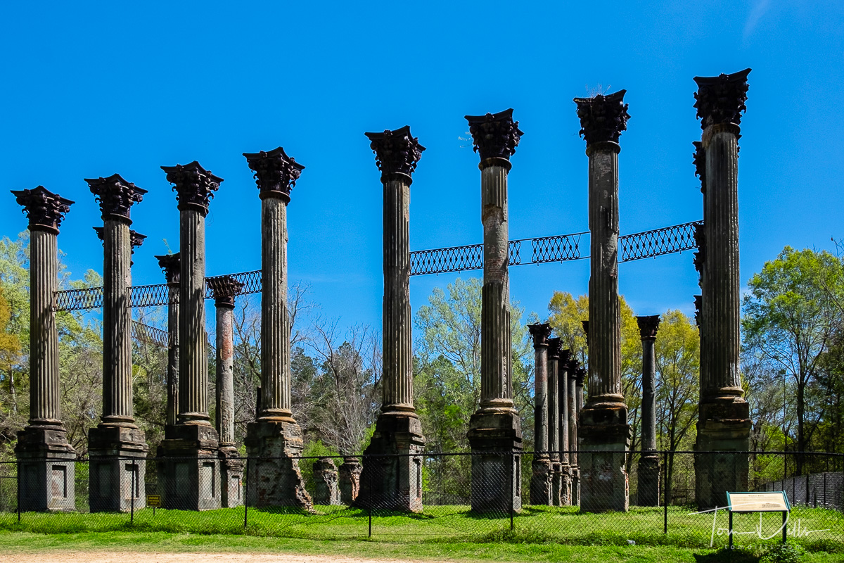 Windsor Ruins just off the Natchez Trace Parkway near Alcorn, Mississippi