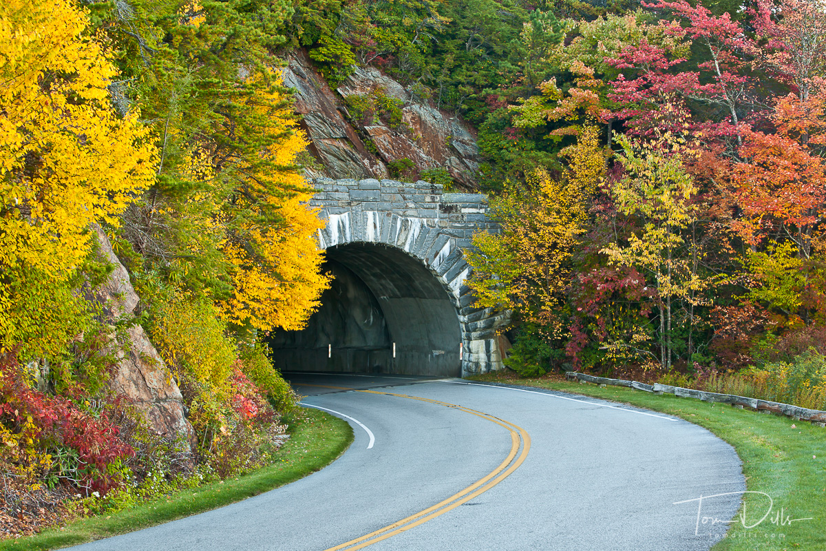 Licklog Ridge Tunnel, Blue Ridge Parkway, NC