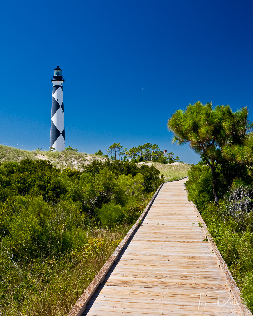 Cape Lookout Lighthouse - Cape Lookout National Seashore, NC