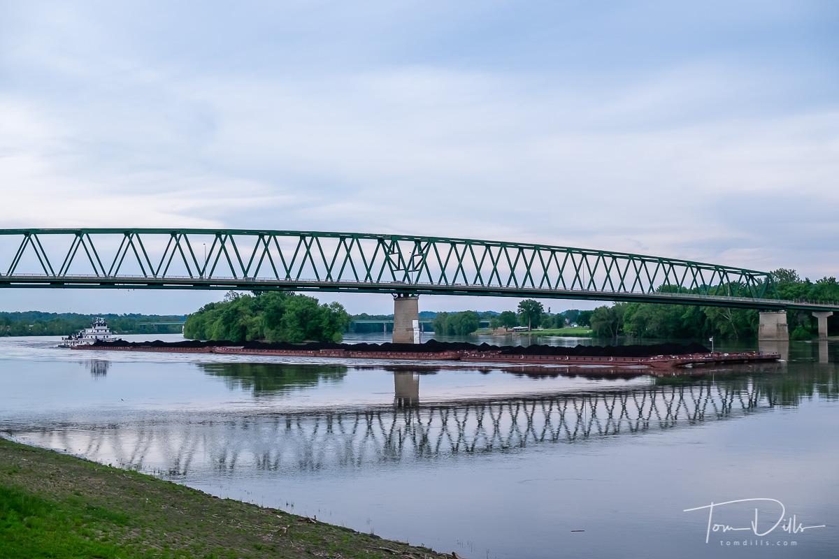 Bridge over the Ohio River, Marietta, Ohio