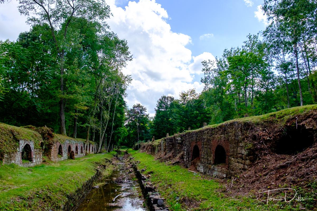 Cherry Valley Coke Ovens historical site near Leetonia, Ohio