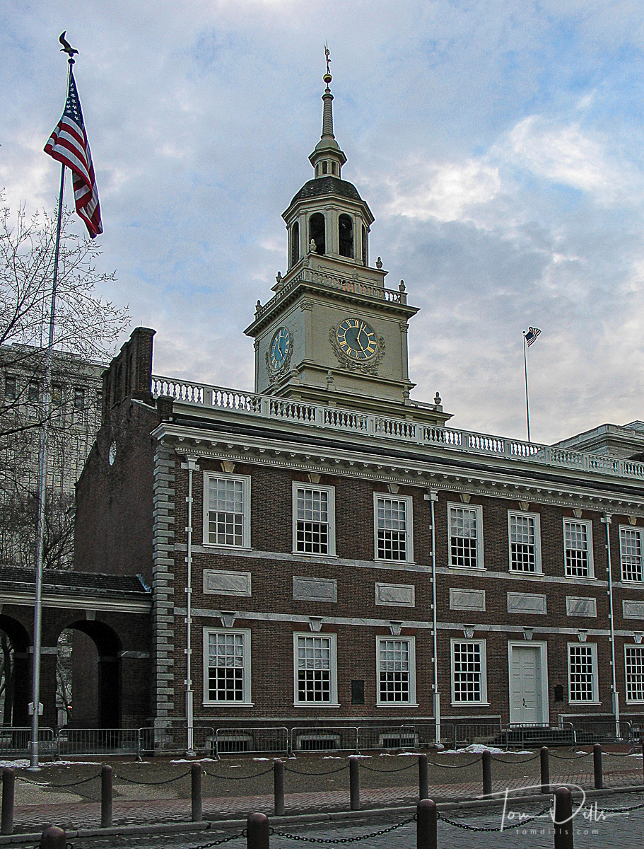 Liberty Bell and independence Hall, Independence Square, Philadelphia, PA