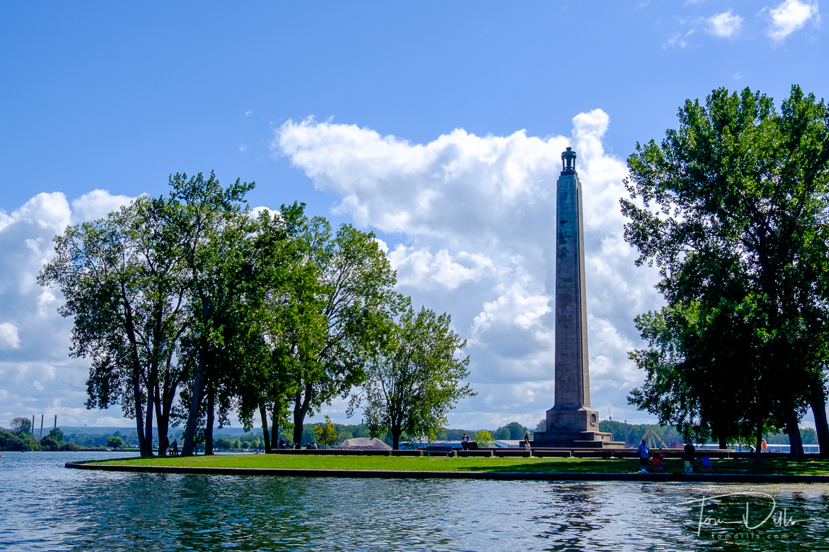 Perry's Victory & International Peace Memorial in Presque Isle State Park on Lake Erie, Erie, PA