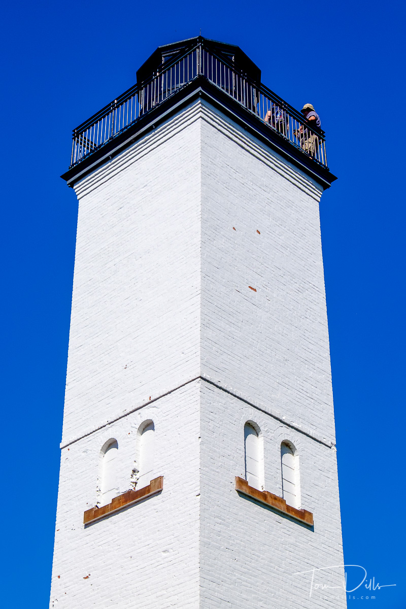 Lighthouse at Presque Isle State Park on Lake Erie, Erie, PA