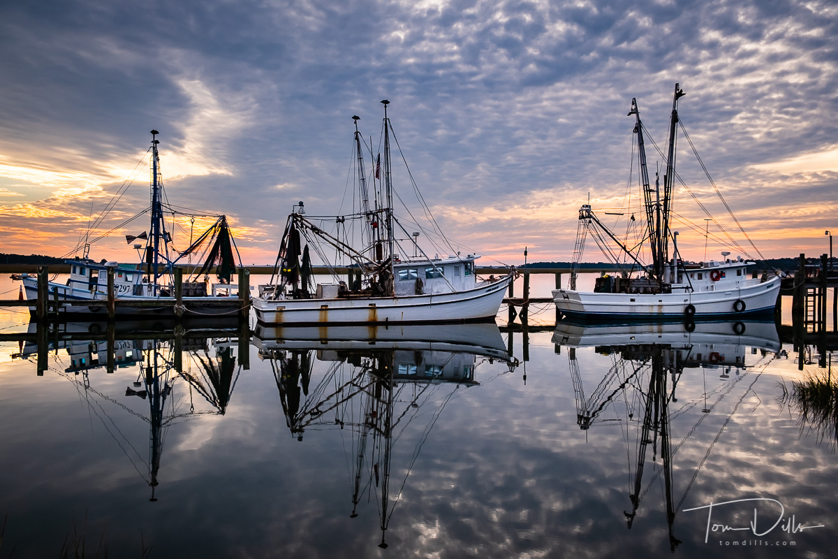 Sunset at Port Royal, South Carolina