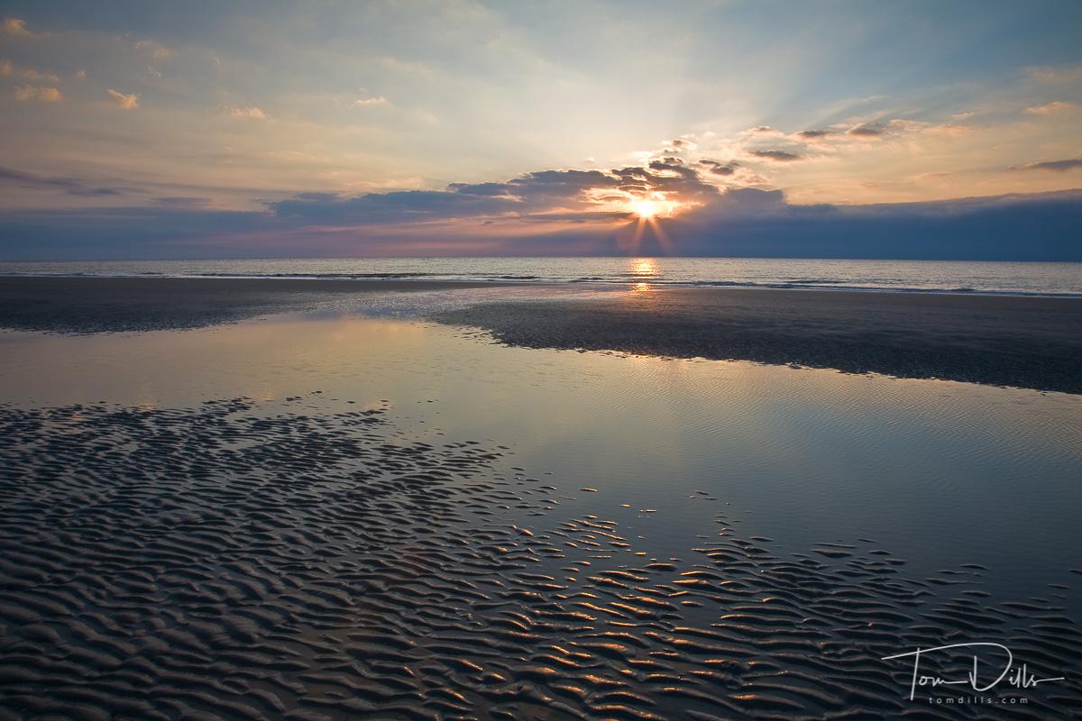 Sunrise on the beach Hilton Head Island South Carolina