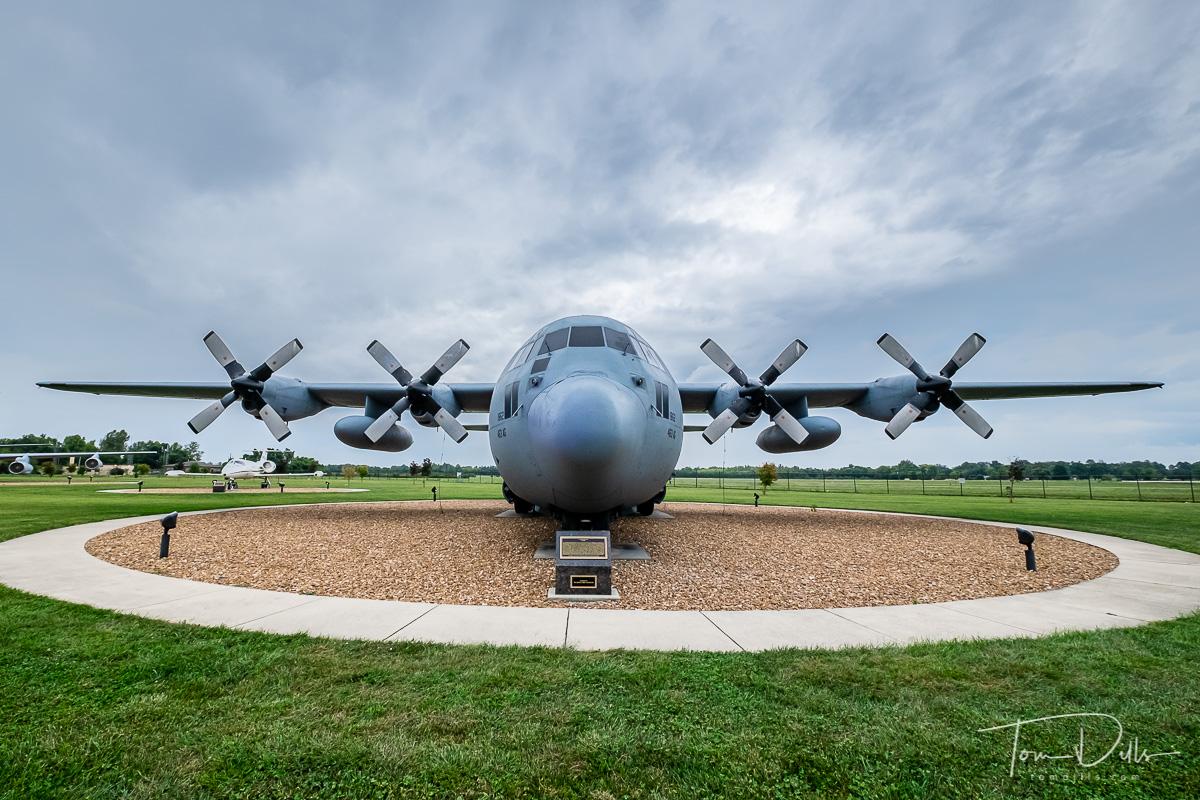 C-130E Hercules at Scott Field Heritage Air Park at Scott AFB, Illinois