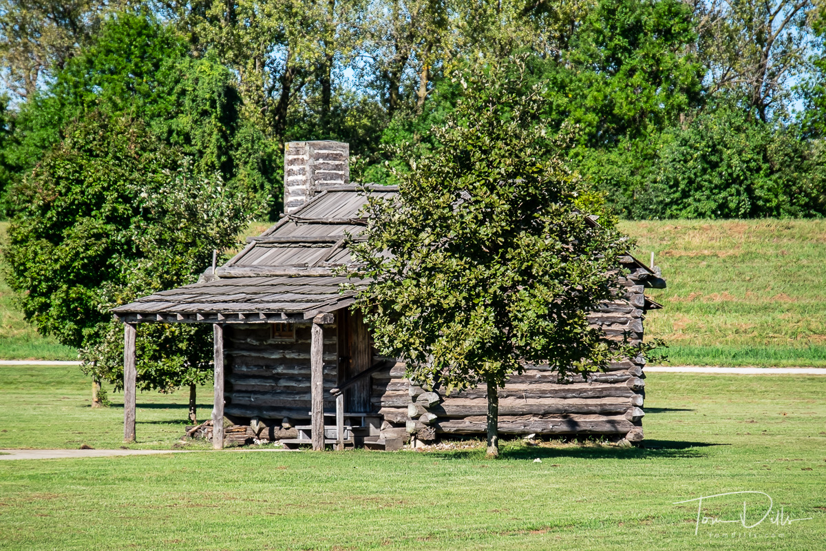 Lewis and Clark State Historic Site near Hartford, Illinois