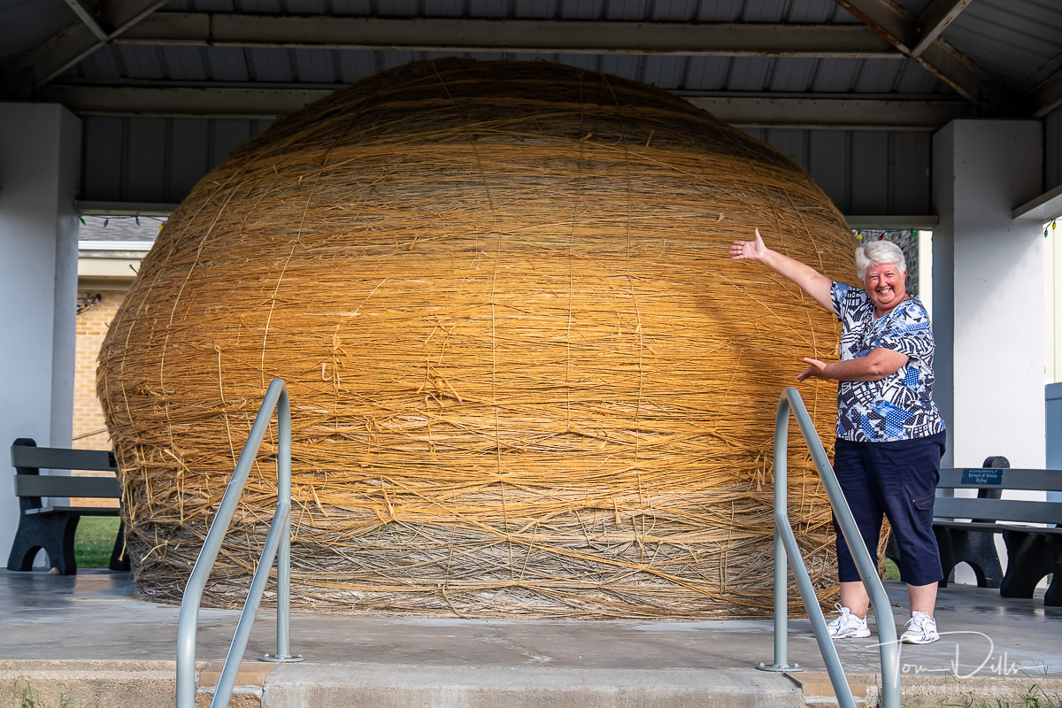 World's Largest Ball of Twine, a tourist attraction in Cawker City, Kansas