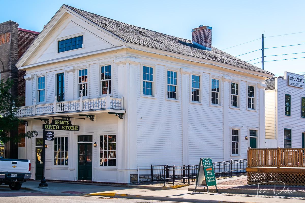 The Mark Twain Boyhood Home & Museum in Hannibal, Missouri