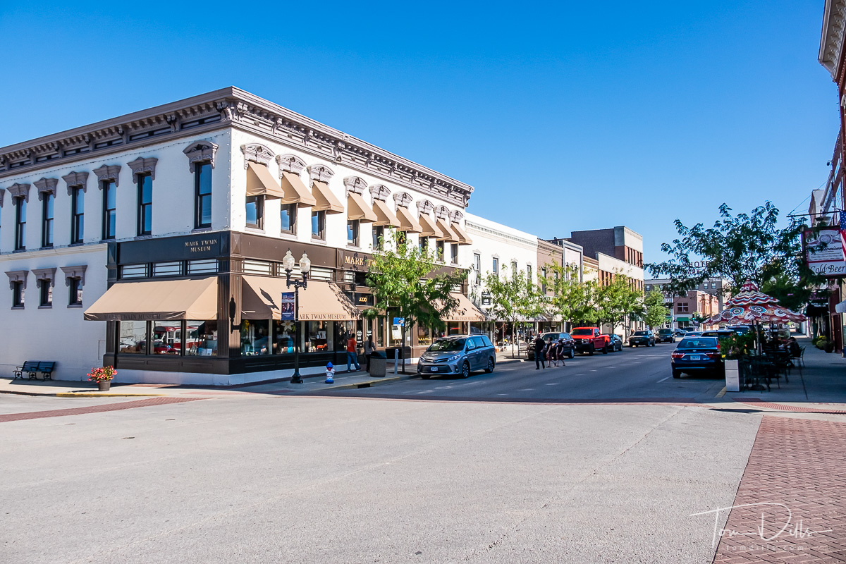 Downtown Hannibal, Missouri