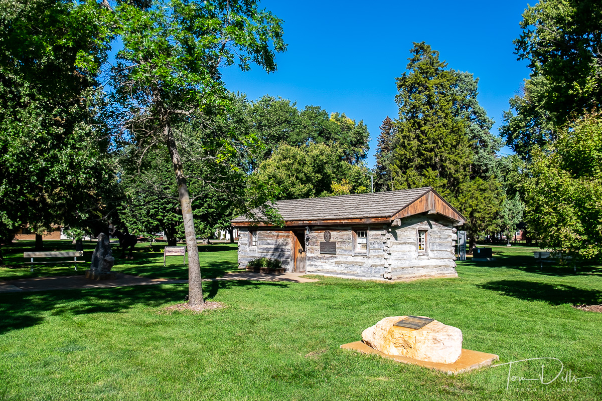 The Sam Machette station (museum) is located in the beautiful Ehmen city park/arboretum. The original log building was disassembled,  moved and reassembled in its current location in 19