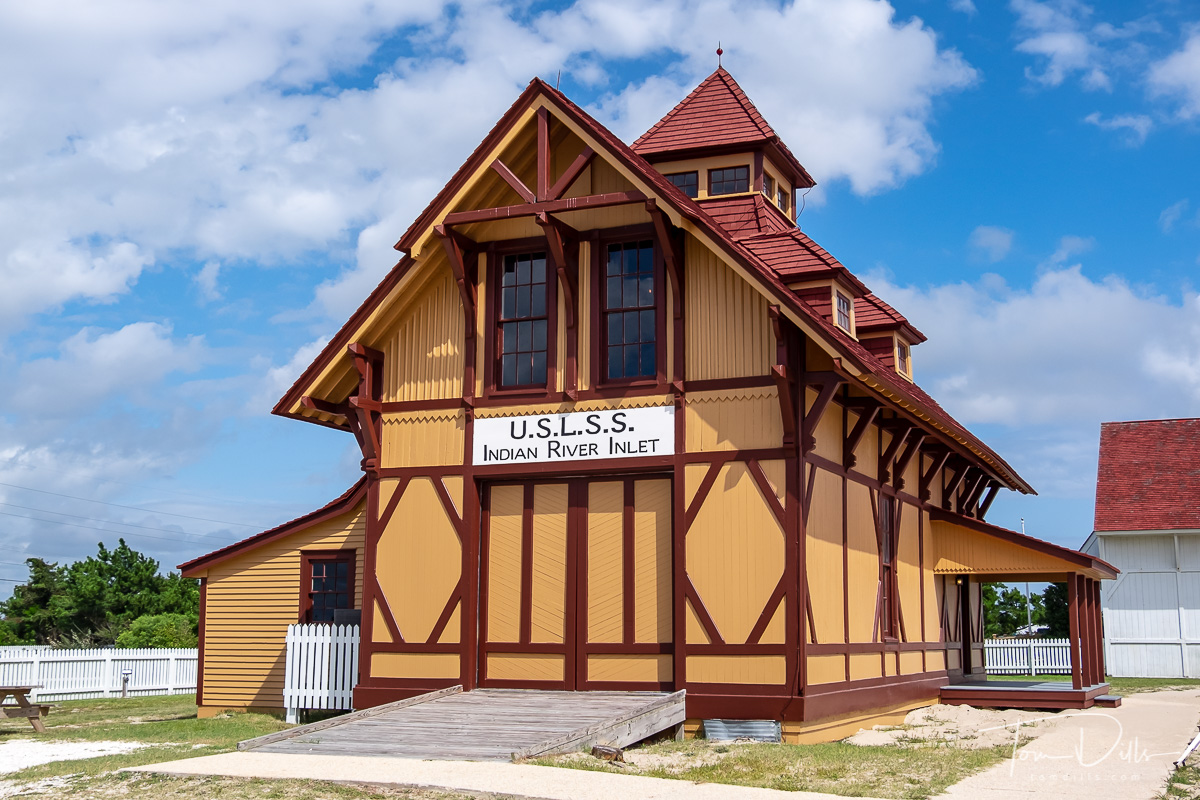 Indian River Inlet Lifesaving Station Museum, Rehoboth Beach, Delaware